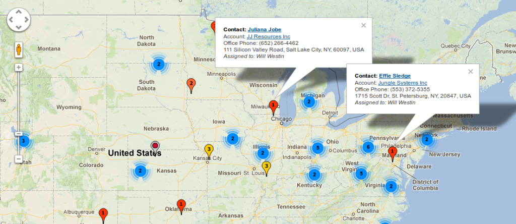 Google Maps for SugarCRM