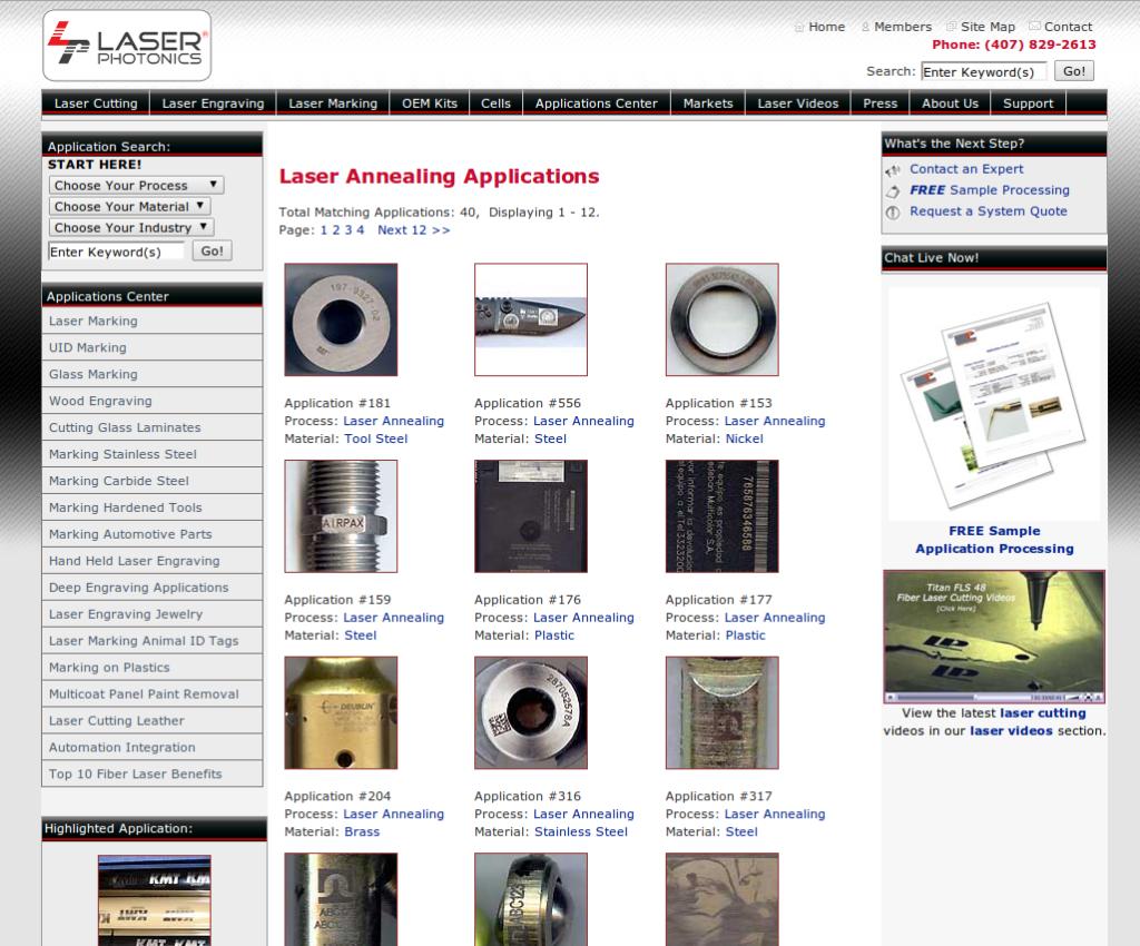 Laser Photonics Application Development