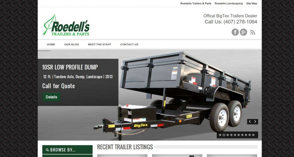 Roedell's Trailers & Parts – WordPress